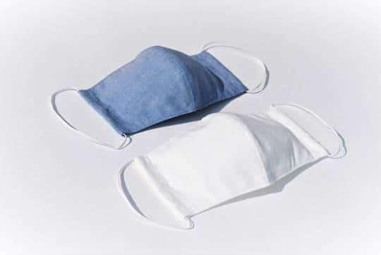 洗って繰り返し使える布マスク (有)内田縫製